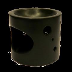Aromalampa kruhy černá