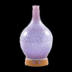 Elektrický difuzér SPA DELIGHT - fialové sklo