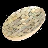 Mýdlenka oválná s perletí