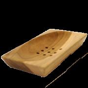 Dřevěná mýdlenka BALI světlá obdlénik
