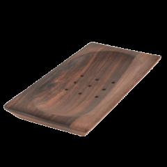Dřevěná mýdlenka BALI tmavá